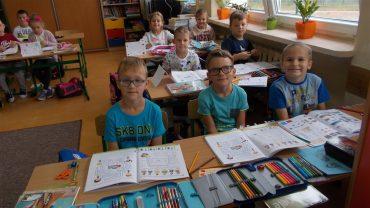 Pierwsze lekcje w naszej klasie